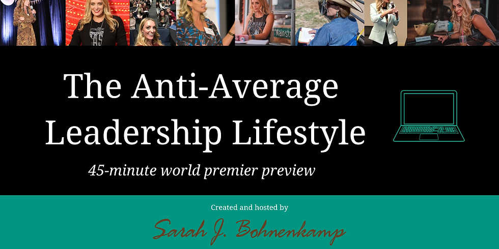 Anti-Average Leadership Lifestyle Preview
