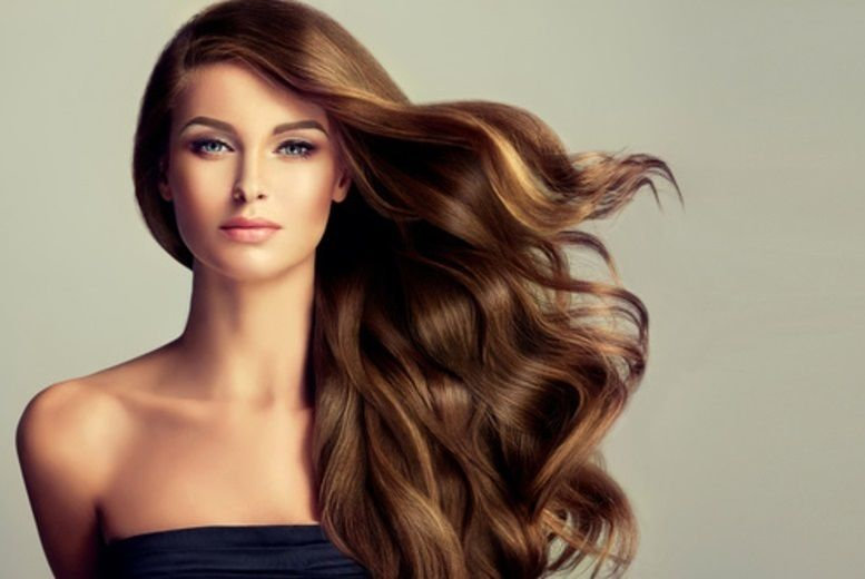 Hair Cut Blow Dry (with color services)