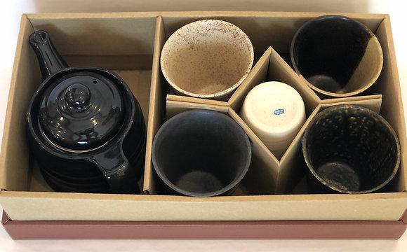 Tea Kettle & 5-Cup Set