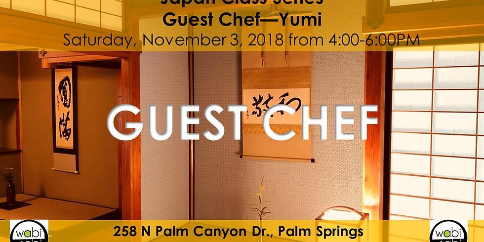 Japan Class Series: Guest Chef: Yumi