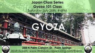 Japan Class Series - Gyoza 101 July 28, 2018