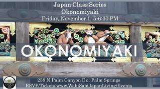Japan Class Series - Hiroshima Style Okonomiyaki November 1, 2019