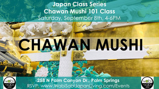 Japan Class Series - Chawan Mushi September 8, 2018