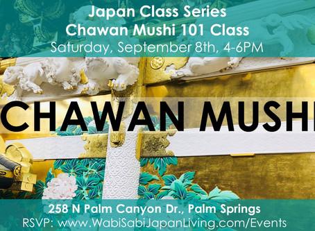 Japan Class Series - Chawan Mushi September 8, 2018