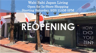 Store REOPENING Sat, 5/23 11AM-5PM