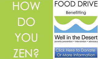 """FOOD DRIVE Benefitting """"Well In The Desert"""", A Virtual Event   May 2020"""