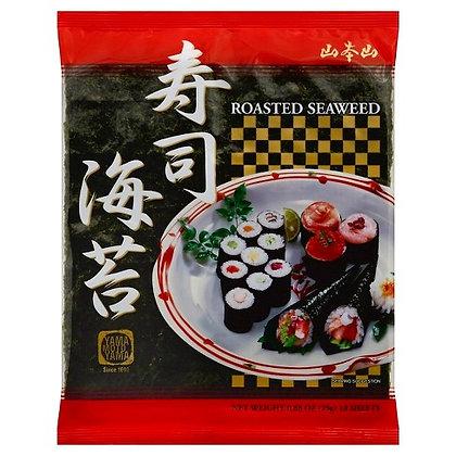 Roasted Seaweed for Sushi Rolls (10) by Yama Moto Yama