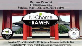 Ramen Takeout @ On The Mark PS, Sun, 5/10 12:00PM-1:15PM (PREORDER ONLY)