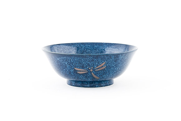 "Dragonfly Blue Bowl (7.5"" x 2.75"")"