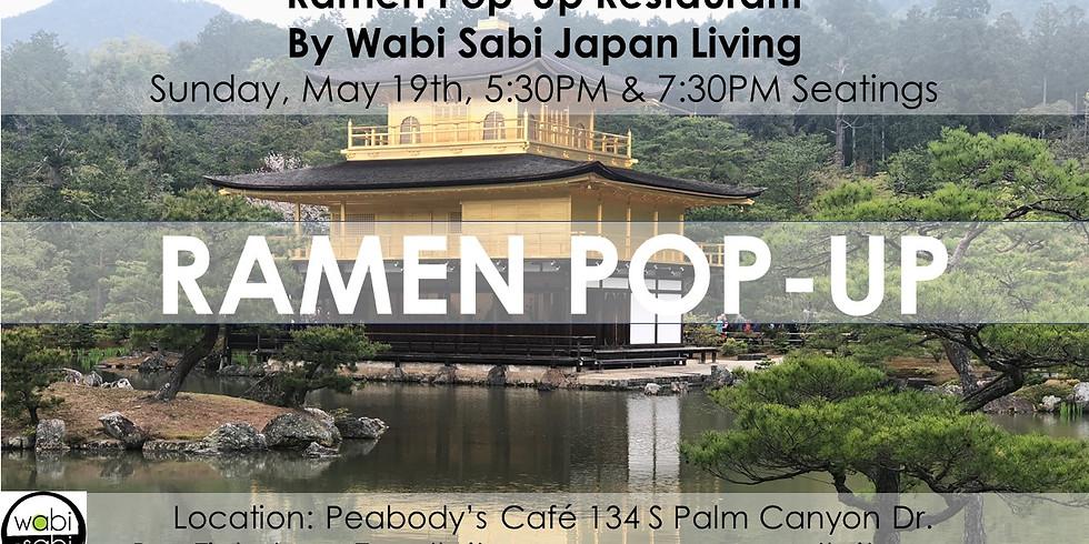 Pop-Up Restaurant - Sun 5/19 1st @ 5:30PM, 2nd 7:30PM