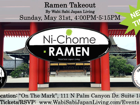 """Ramen Takeout @ On The Mark PS, Sun, 5/31 4:00PM-5:15PM (PRE ORDER ONLY) NEW! """"Shoyu Ramen&quot"""