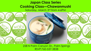 Japan Class Series - Chawanmushi March 3, 2018