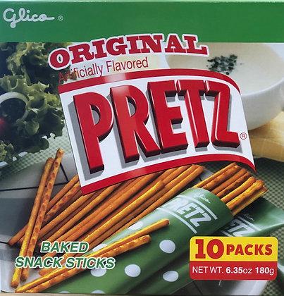 Pretz Original 6.35oz - 10 packs