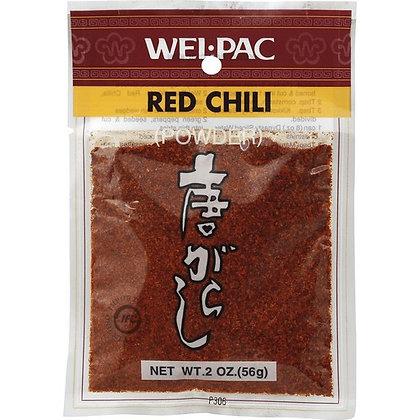 Hontaka Crushed Red Chili, WelPac.2oz
