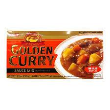 S&B Golden Curry Sauce Mix (Roux) - Mild 7.8oz