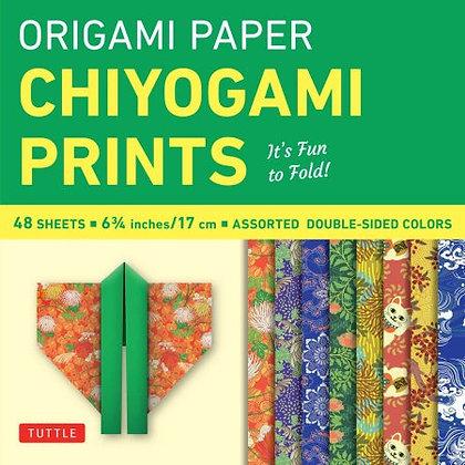 Origami Paper Chiyogami Prints - 6 3/4
