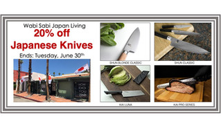 20% Off Shun and Kai Knives