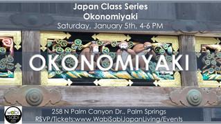 Japan Class Series - Okonomiyaki January 5, 2019