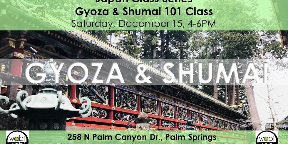 Japan Class Series: Gyoza & Shumai 101, Sat 12/15/18