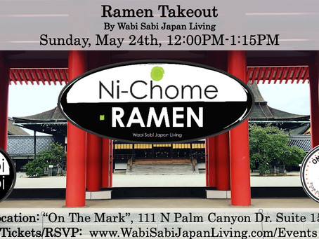 """Ramen Takeout @ On The Mark PS, Sun, 5/24 12:00PM-1:15PM (PRE ORDER ONLY) NEW! """"Shoyu Ramen&quo"""