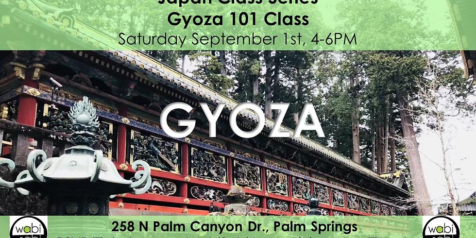 Japan Class Series: Gyoza 101, Sat 9/1/18 from 4-6PM