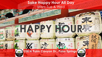 Sake Happy Hour All Day