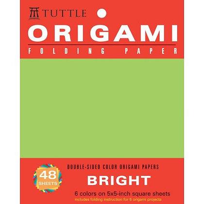 "Origami Hanging Paper, Bright 5"" - 48"