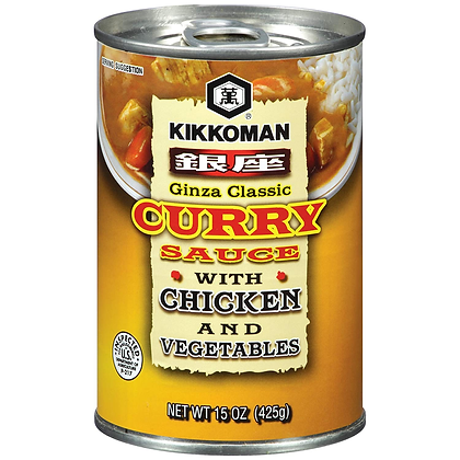 KKM Ginza Classic Curry Chicken & Vegetables 15oz