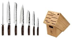 Shun Premier 8 Pc Professional Block Set