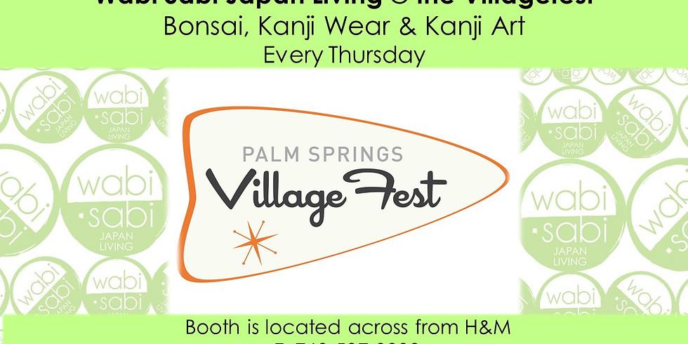 Villagefest - Bonsais