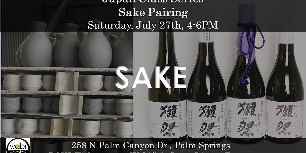 Sake Pairing, Sat 7/27, 4-6PM