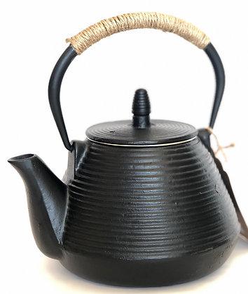 Cast-Iron Tea Kettle w/ Rings