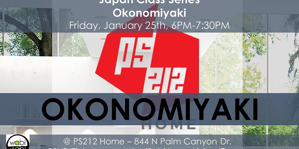 Japan Class Series: Okonomiyaki, Fri 1/25/19, 6PM-7:30PM