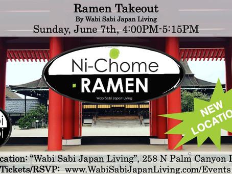 "Ramen Takeout – Sun, 6/7 4-5:15PM @ Wabi Sabi Japan Living (PRE ORDER ONLY) NEW! ""Japanese Curr"