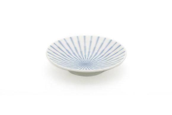 """Radial White Shallow Bowl (6"""" x 1.5"""")"""
