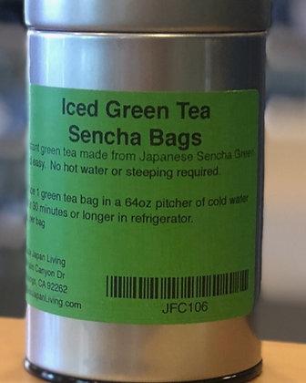 Iced Green Tea Sencha Bags 10 bags/40 g