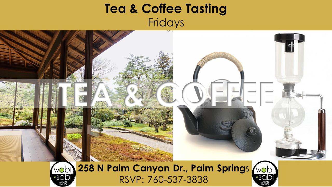 Tea & Coffee Tasting