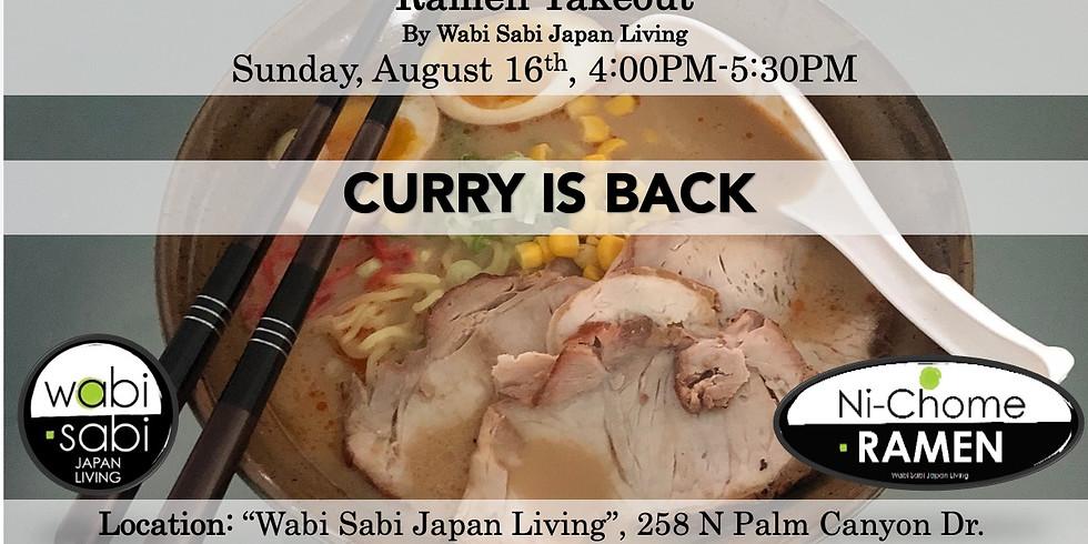 Ramen Takeout – Sun, 8/16, 4:00PM-5:30PM @ Wabi Sabi Japan Living