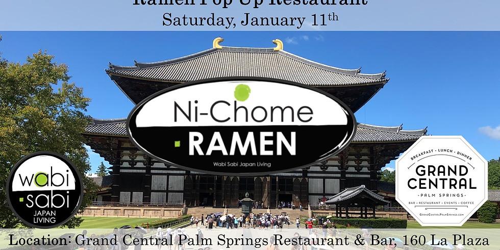 Ramen Pop Up Restaurant - Sat 1/11, Seating on the Half Hour