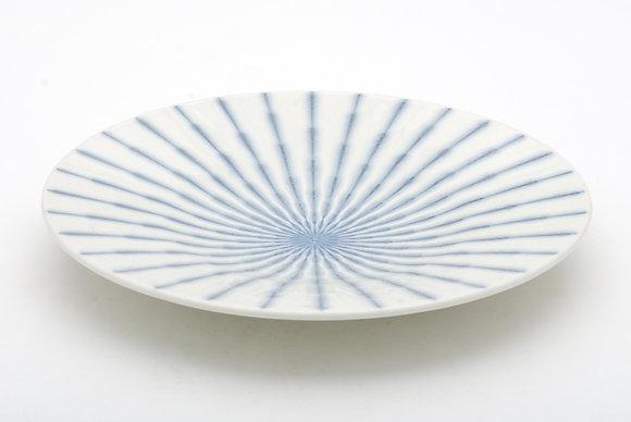 """Radial White Platter (12"""" x 1.5"""")"""