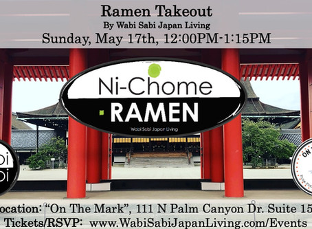 Ramen Takeout @ On The Mark PS, Sun, 5/17 12:00PM-1:15PM (PRE ORDER ONLY)
