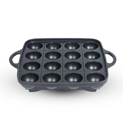 """Takoyaki Iron Grill Plate (8"""")"""