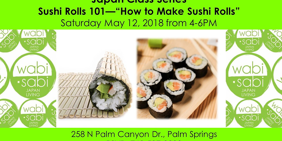 Japan Class Series: Sushi 101