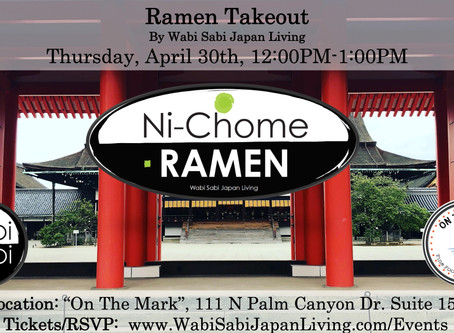 Ramen Takeout @ On The Mark PS, Thu, 4/30 12:00PM-1:00PM (PREORDER ONLY)