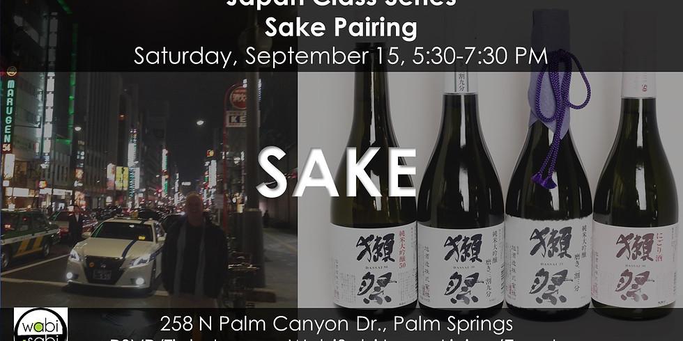 Sake Pairing, Sat 9/15/18
