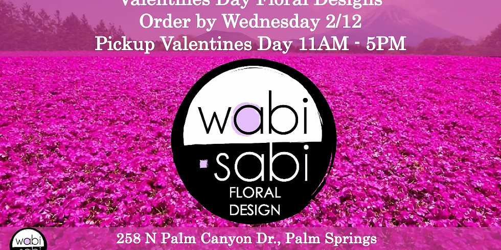Reserve your Valentine's Day Arrangement by Wednesday 2/12/20