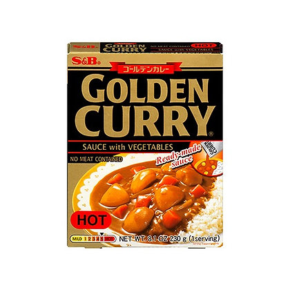 S&B Curry Sauce w/ Vegetables Hot 8.1oz