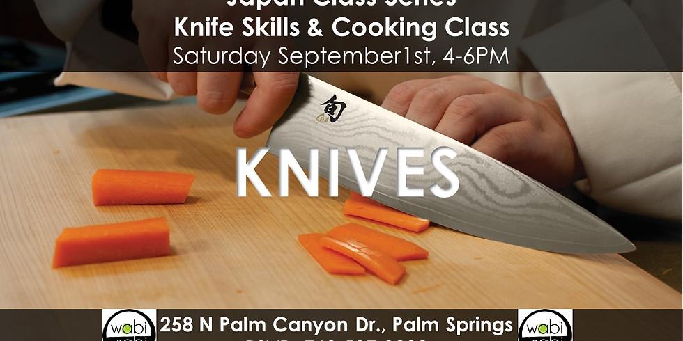 Japan Class Series: Knife Skills & Cooking Class