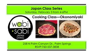 Japan Class Series - Okonomiyaki February 3, 2018