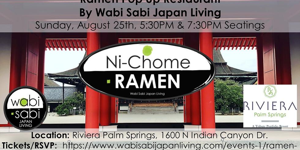 Ramen Pop Up Restaurant - Sun 8/25 1st Seating @ 5:30PM & 2nd Seating @ 7:30PM